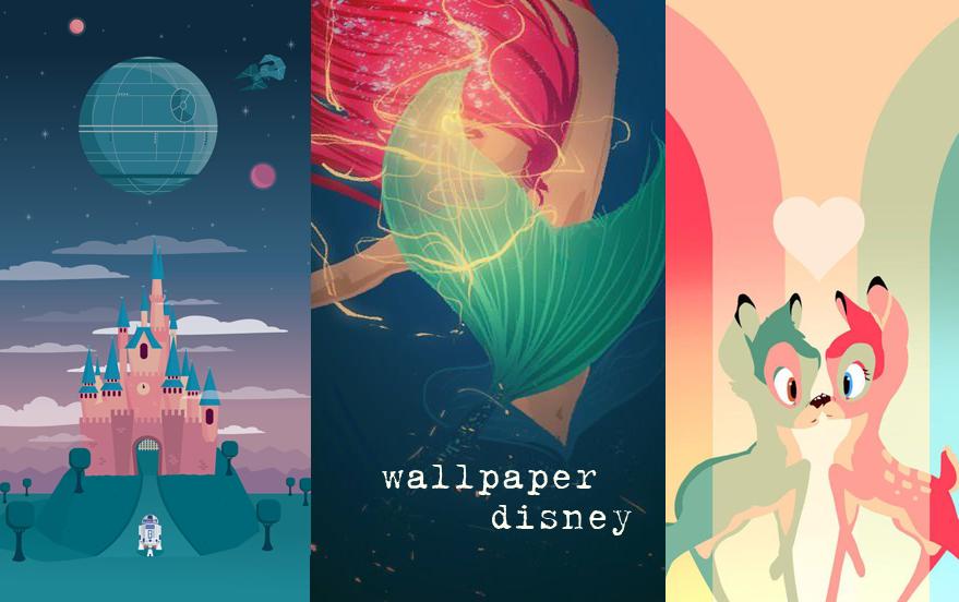 Wallpaper Disney para o seu celular Colorindo Nuvens