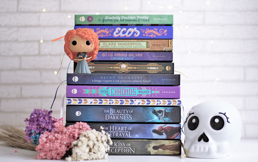 Selo Darklove Darkside Books coleção