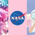 Wallpaper tumblr girl, universo e texturas