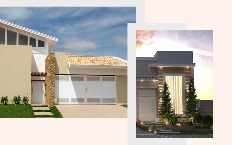 10 dicas de decoração de fachada de casa