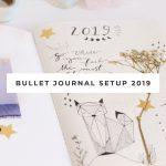 Video bullet journal 2019 set up