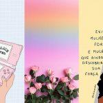 Wallpaper feminino tumblr Colorindo Nuvens